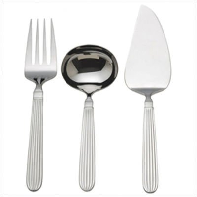 Reed & Barton Royal Scroll 3-piece Serving Set