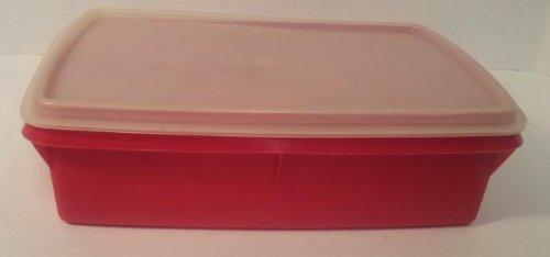Tupperware Tuppercraft Stow N Go Storage Box in Red