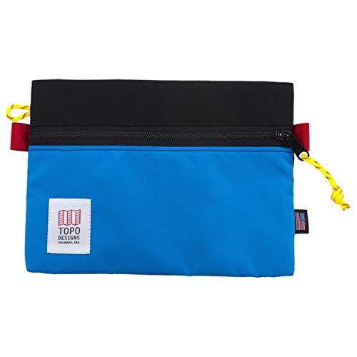 Topo Designs Accessory Bags - Black/Royal - Medium