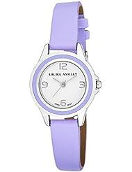 Laura Ashley Womens LA31009PU Analog Display Japanese Quartz Purple Watch