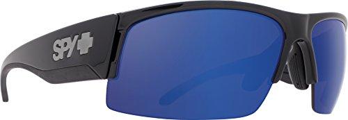 (SPY Optic Flyer Blue Spectra Sunglasses | Happy Lens | Black Lens)