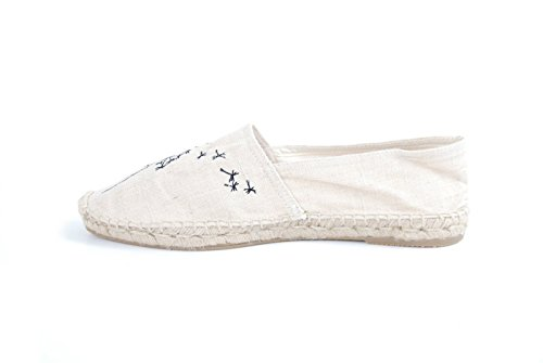 Unisexe The Old Blanc Pissenlit New 40 House Espadrille qv4v1USx