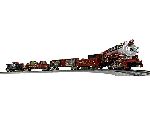 (Lionel Thomas Kinkade Electric O Gauge Model Train Set w/ Remote and Bluetooth Capability)