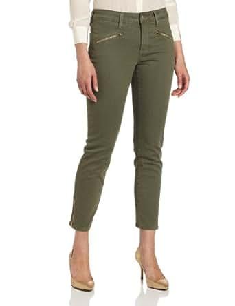 NYDJ Women's Alina Colored Denim Legging Jeans, Rosemary, 0 Petite