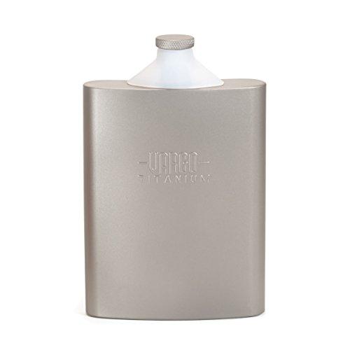 Vargo Titanium Funnel Flask - Single Vodka Malt