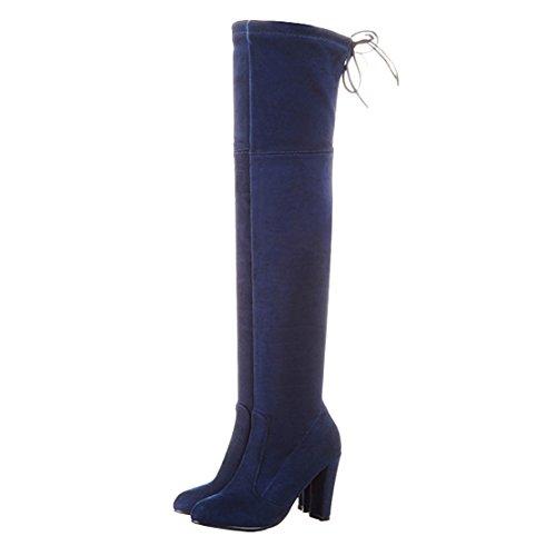 Blue Classic Women's Women's Boot Women's AIYOUMEI AIYOUMEI Boot AIYOUMEI Blue Classic Boot Blue Classic xOPfvqpv0w