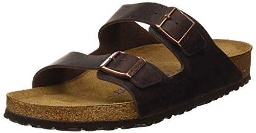 Birkenstock Women's Arizona 2-Strap Cork Footbed Sandal Brown 39 M EU