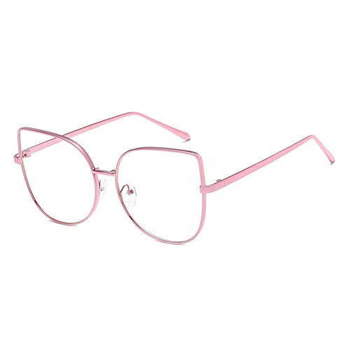Hommes Femmes Cat Eye Lunettes - Transparents Lunettes Cadre - Mode Lunettes - hibote # 122907 m4pTnlOVs