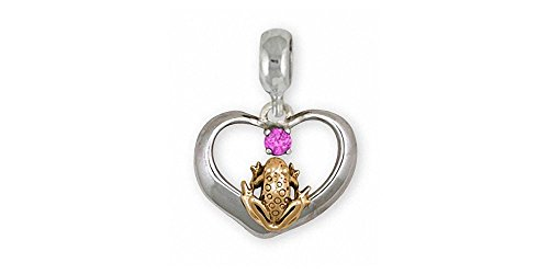 Quality Gold Frog Charm - 8