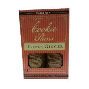 Trader Joes Triple Ginger Cookie