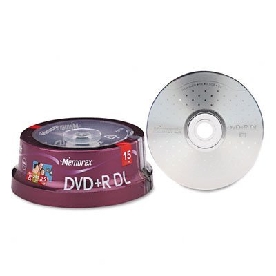 Memorex 8.5GB 8x Double Layer DVD+R