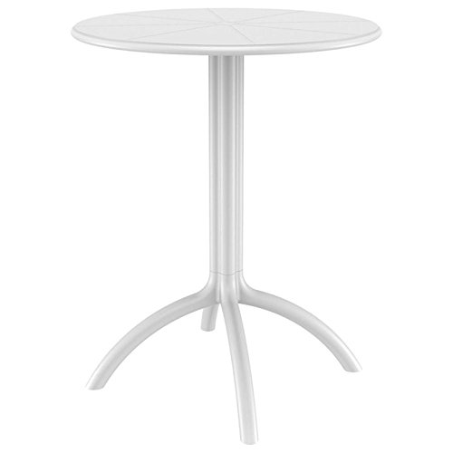 Compamia Octopus Round Bistro Table in White by Compamia