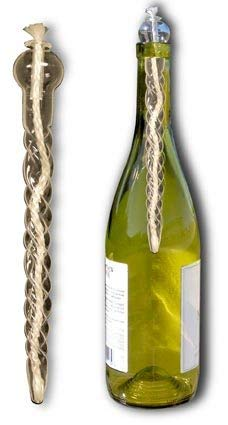 (Glass Candle Insert Turns Wine Bottles Into Romantic Oil Lamps! (1)