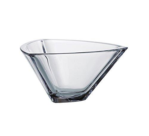 Barski - European Quality Glass - Lead Free - Crystalline - Triangle Bowl - 7
