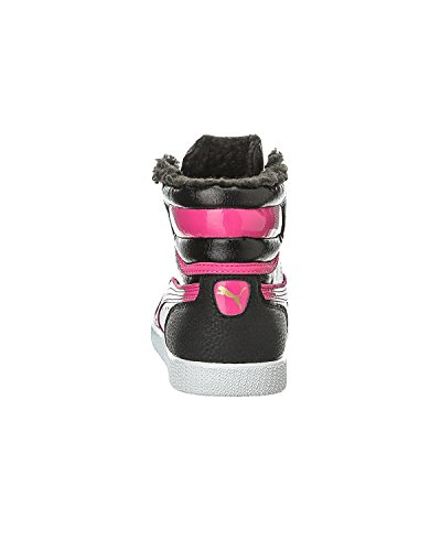 Rose Mode Fille Noir Schwarz Round Et First Baskets Fur Jr Puma UTnvfxXqw