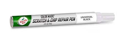 Turtle Wax 50758 Color Magic Scratch and Chip Repair Pen, Universal Black