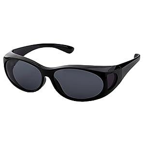 LensCovers Sunglasses Wear Over Prescription Glasses Small