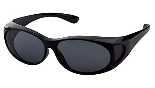 LensCovers Sunglasses Wear Over Prescription Glasses - The Eclipse Sunglasses