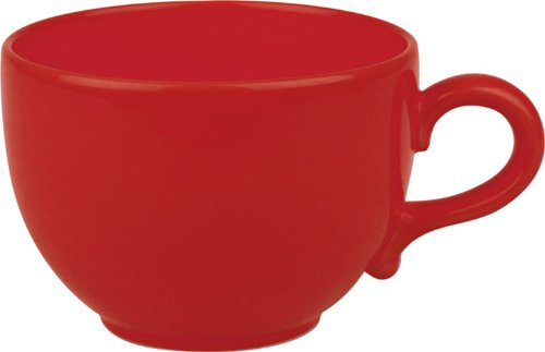 (Waechtersbach Fun Factory II Red Jumbo Cups, Set of 4)