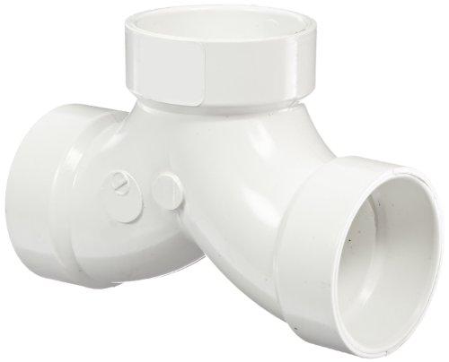 - Spears P327 Series PVC DWV Pipe Fitting, 1/4 Bend, Tee, 1-1/2