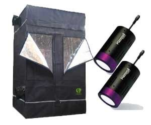 GrowLab Indoor Grow Tent with LED Light Kit  sc 1 st  Amazon.com : grow tent kit - memphite.com