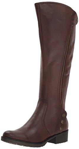 BareTraps Women's Bt Oria Riding Boot, Dark Brown, 6.5 US/6.5 M US (Knee High Women Boots Leather)