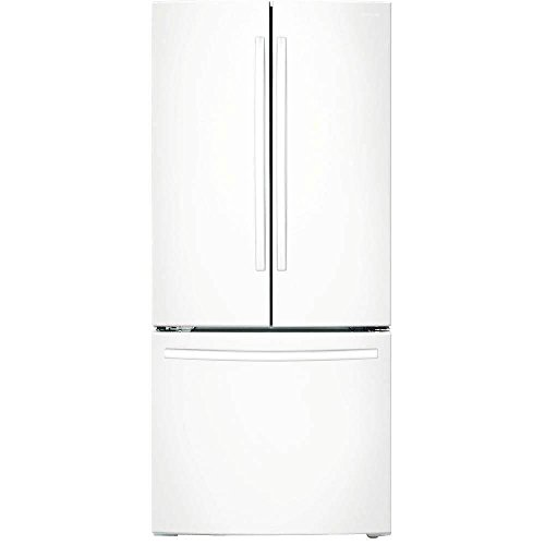 Samsung RF18HFENBWW 17.5 Cu. Ft. White Counter Depth French Door Refrigerator