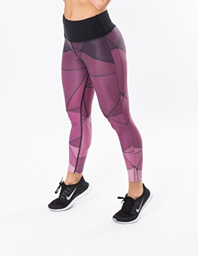 Iron Lily Women's EOS Leggings, Mauve, Small
