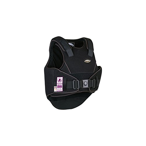 Champion Flexair Body Protector Body Protector Medium Short (Jnr) Black/Grey