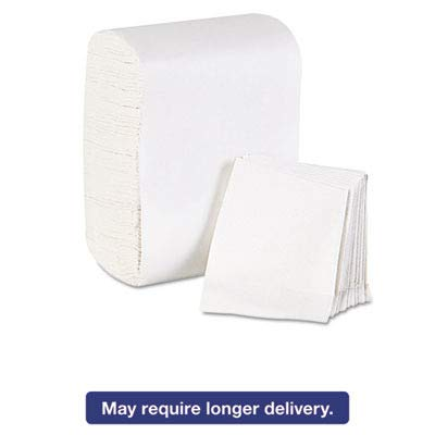 Dixie Basic Low-Fold 1-Ply Dispenser Napkin Refill (Previously HyNap) by GP PRO (Georgia-Pacific), White, 39202, 250 Napkins Per Pack, 32 Packs Per Case ()