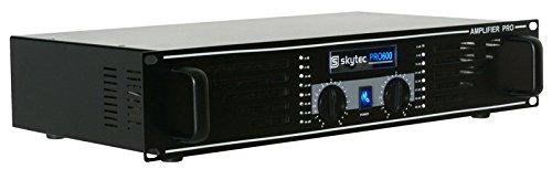 Skytec SKY-600 PA-Verstärker Endstufe 2 x 600W max. schwarz