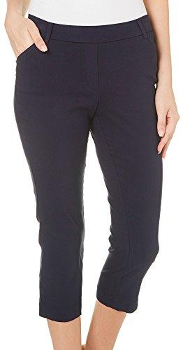 Navy Blue Capri Pants - 7