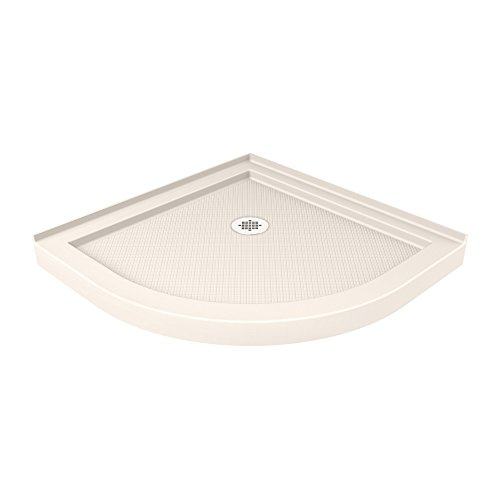 DreamLine DLT-7038380-22 Quarter Round Shower Tray, 38