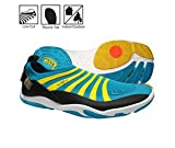 zemgear split toe running shoes - ZEMgear 3000 Men's/Women's U EX ROUND Toe Shoes AQUA/BLACK M7W8