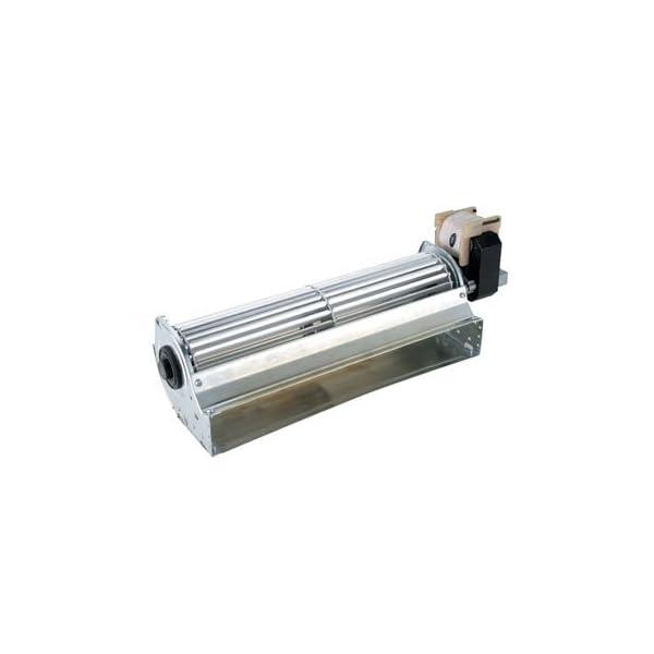 Ventilatore tangenziale 30 cm + motore DX per stufe pellet 230v 50hz 1 spesavip