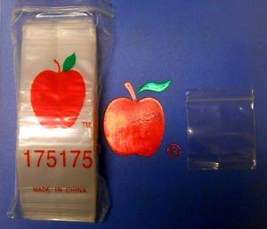 1000 apple baggies 2x2 - 5