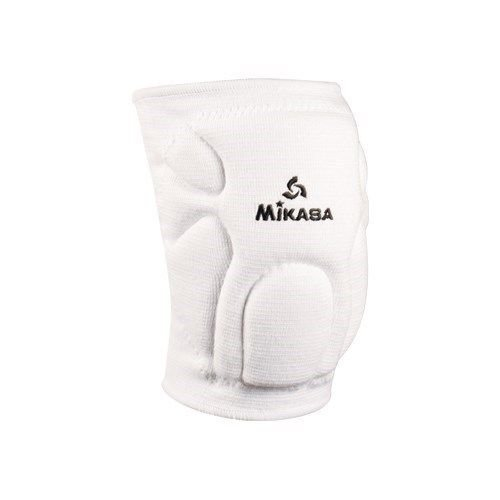 Mikasa Advanced Competition Knee Pads For Volleyball & Basketball - Adult, White