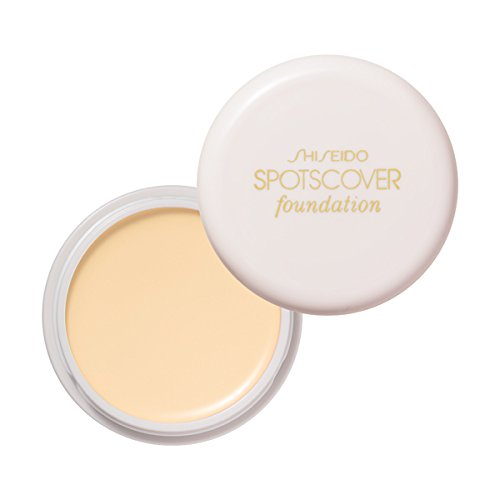 Shiseido Spotscover Foundation 18g/0.64oz C2: yellow with a beige tinge