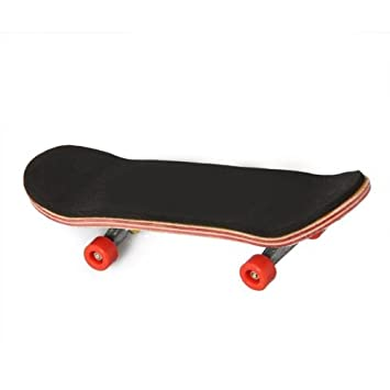 fitTek® Monopatin madera Mini Tabla de dedo Patin Skateboard ...