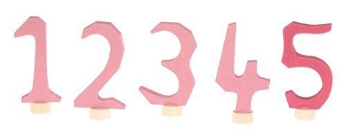 Grimm's Pink Number Set 1, 2, 3, 4, 5 Grimm's Pink Number Set 1 04401