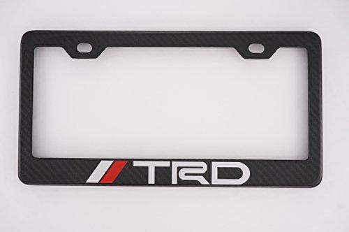 TRD Carbon Fiber License Plate Frame (Trd Carbon Fiber)