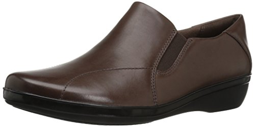 Dark Clarks Brown Leather Sneaker Donna FrEw1qFU