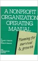 A Nonprofit Organization Operating Manual: Planning for Survival ...
