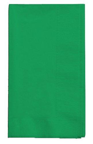 Creative Converting Dinner Napkins Emerald