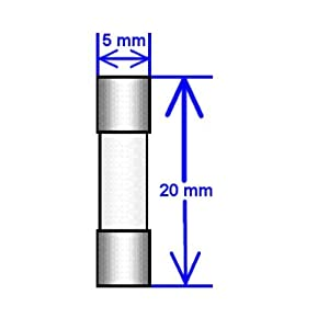 5 Qty. GDC 1.6A Slow-Blow Fuse T1.6A 250v GDC1.6A GDC 1.6A