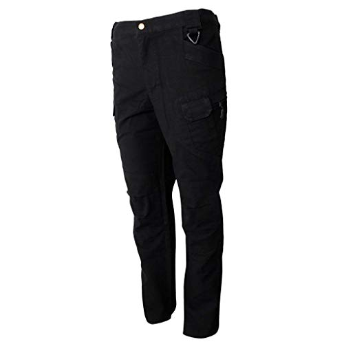 Loose Adelina Men Escursionismo outdoor Allenamento Alpinismo Abbigliamento Pants Leisure For sportive nere con Long Trekking Free tasche FfryIfq