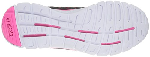 Reebok Women's Z Dual Ride DNS Running Shoe Gravel/Solar Pink/Solar Yellow/White wAd4MyFv93