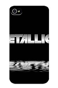 Catenaryoi Faddish Phone Metallica Case For Iphone 4/4s / Perfect Case Cover