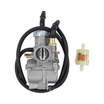 carburetor w/fuel hose carb for kawasaki klf185a klf185 bayou 185 1985 1986  atv