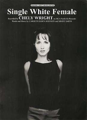 Sheet Music 1999 Single White Female Cheley Wright 139